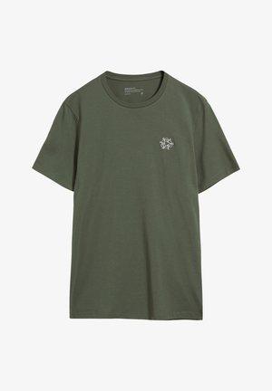 JAAMES BIKE EMBRO - Basic T-shirt - icy moss