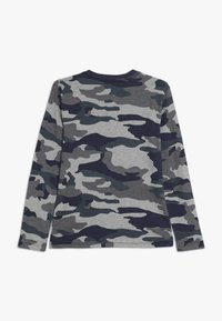 J.CREW - CAMO HENLEY - Long sleeved top - heather slate - 1