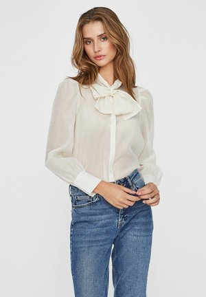 Button-down blouse - birch