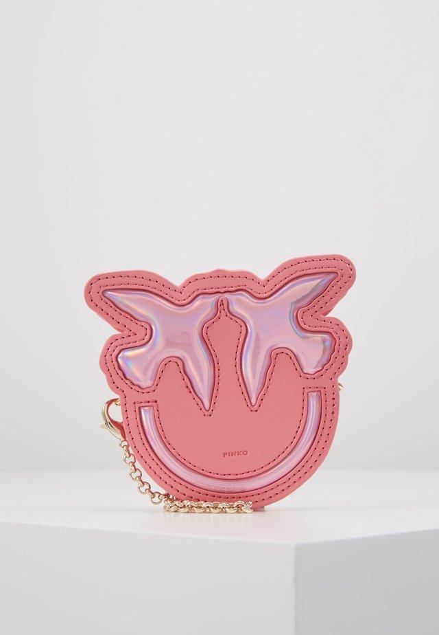 LUCKY TRACOLLINA - Portafoglio - bubble pink
