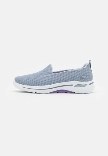 GO WALK ARCH FIT - Walking trainers - gray/lavender