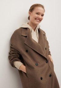 Mango - PICAROL - Classic coat - medium brown - 3