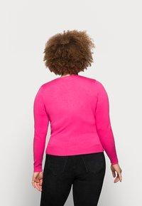 Marks & Spencer London - CREW CARDI PLAIN - Cardigan - pink - 2