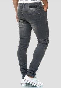 INDICODE JEANS - Jeans Slim Fit - lt grey - 2