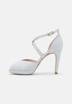 Peep toes - galaxy bianco