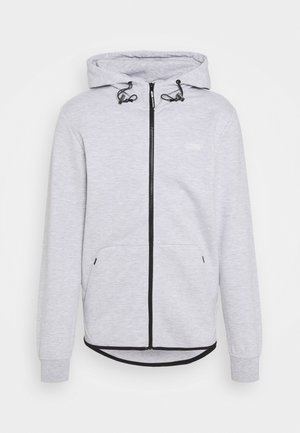 JCOAIR ZIP HOOD - Zip-up hoodie - light grey melange