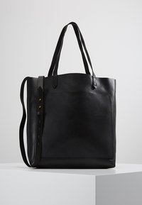 Madewell - MEDIUM TRANSPORT TOTE - Handbag - true black - 0