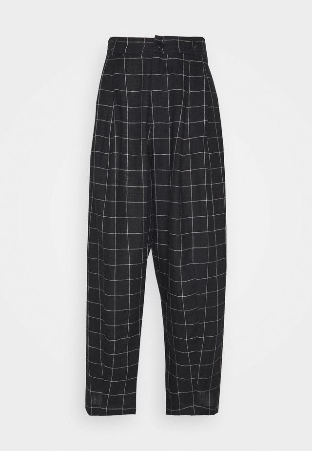 LOVE SONG PANTS - Kalhoty - dark grey