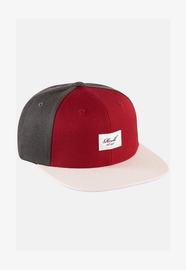 PITCHOUT - Cap - dark grey/ red