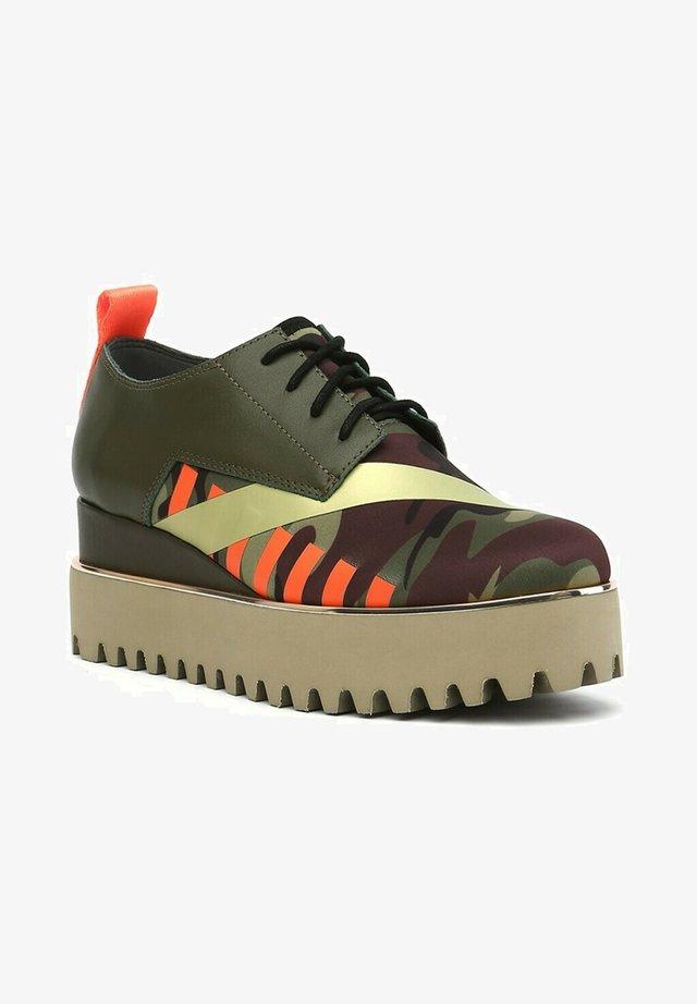 Boots à talons - kaki
