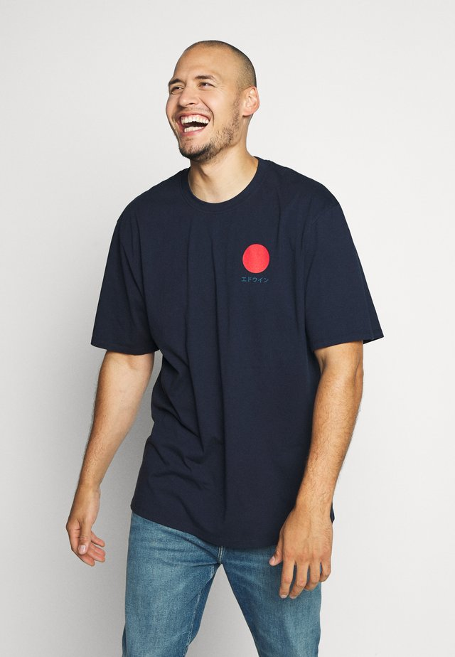 JAPANESE SUN - Printtipaita - navy blazer