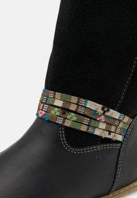 Richter - GRETA - Winter boots - black - 5