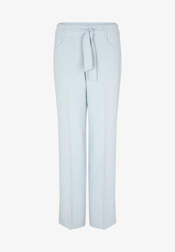 Trousers - smokey blue