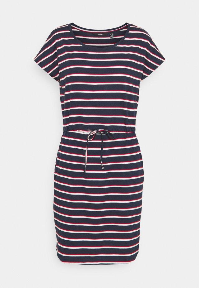 VMAPRIL SHORT DRESS - Jerseykleid - navy blazer