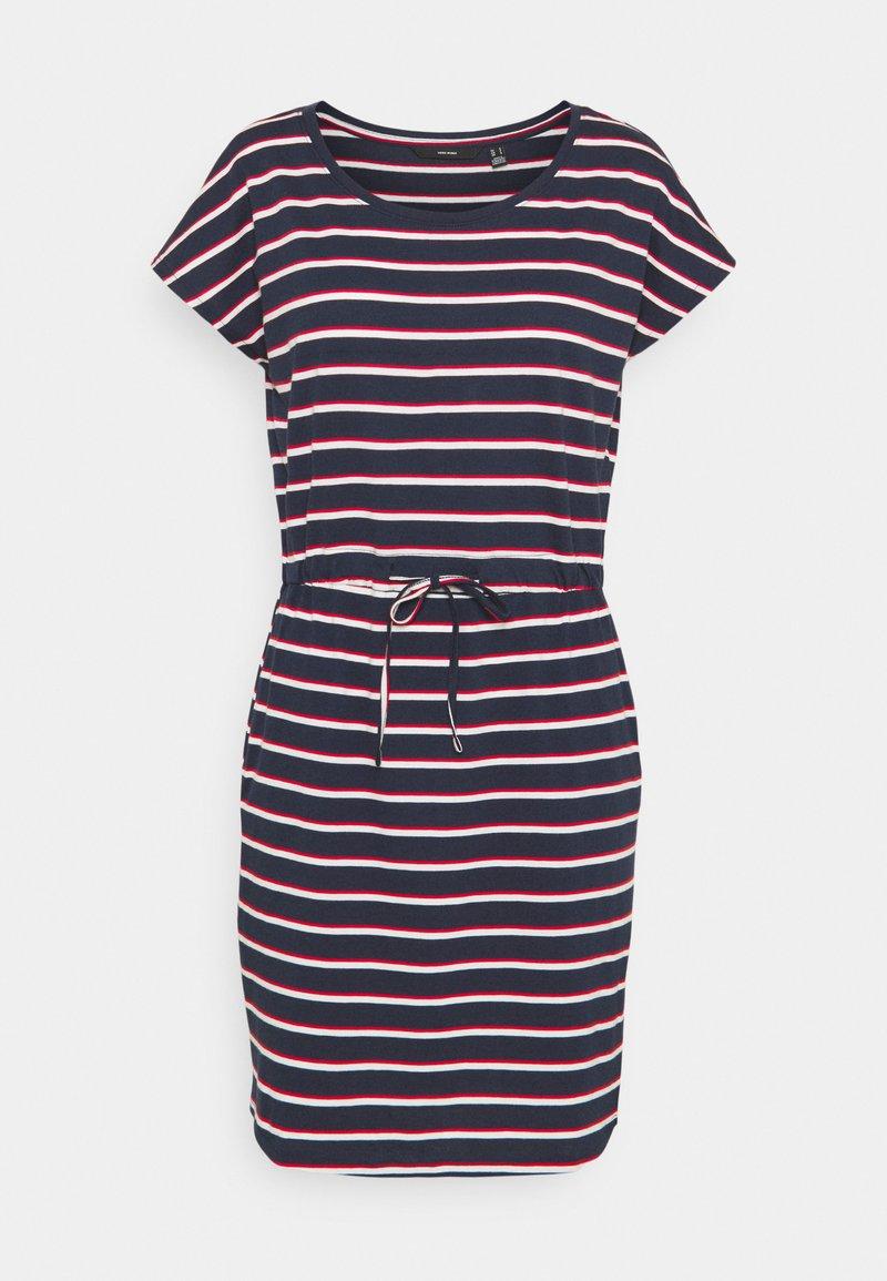 Vero Moda - VMAPRIL SHORT DRESS - Jersey dress - navy blazer