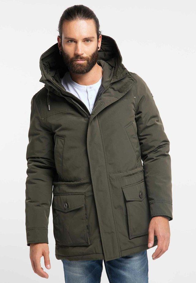 Winter coat - military olive