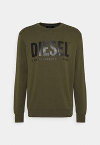 Diesel - GIR DIVISION LOGO - Sweatshirt - olive - 0