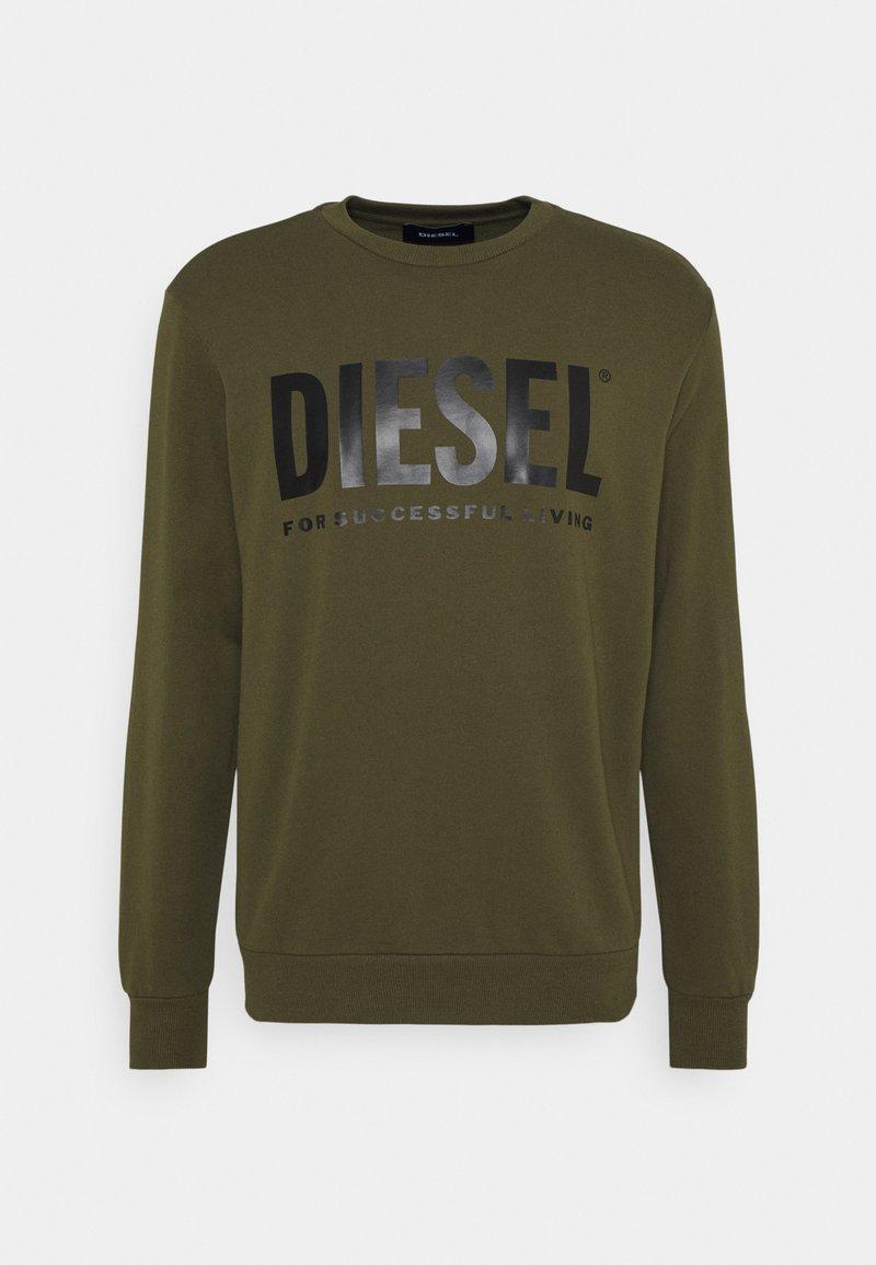 Diesel - GIR DIVISION LOGO - Sweatshirt - olive