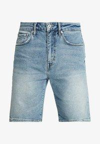 TYLER SLIM - Denim shorts - kirk authentic blue
