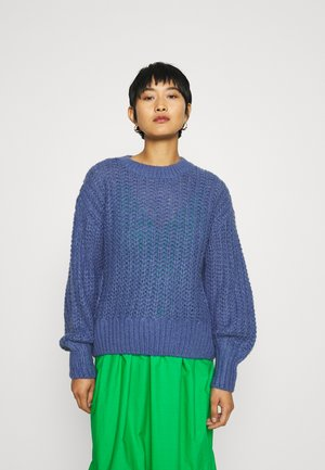 CELENA HEIDI - Jumper - gray blue