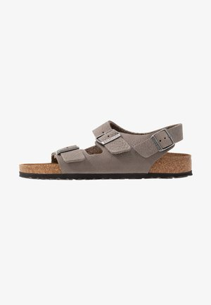 MILANO NARROW - Sandalias - soft whale gray