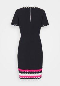 Milly - GEO CUT OUT DRESS - Jumper dress - navy/multi - 7