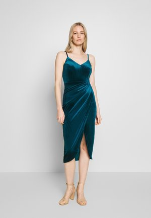 Cocktail dress / Party dress - petrol