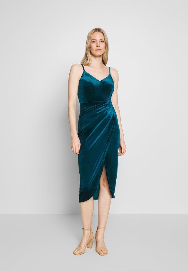 Cocktail dress / Party dress - petrol