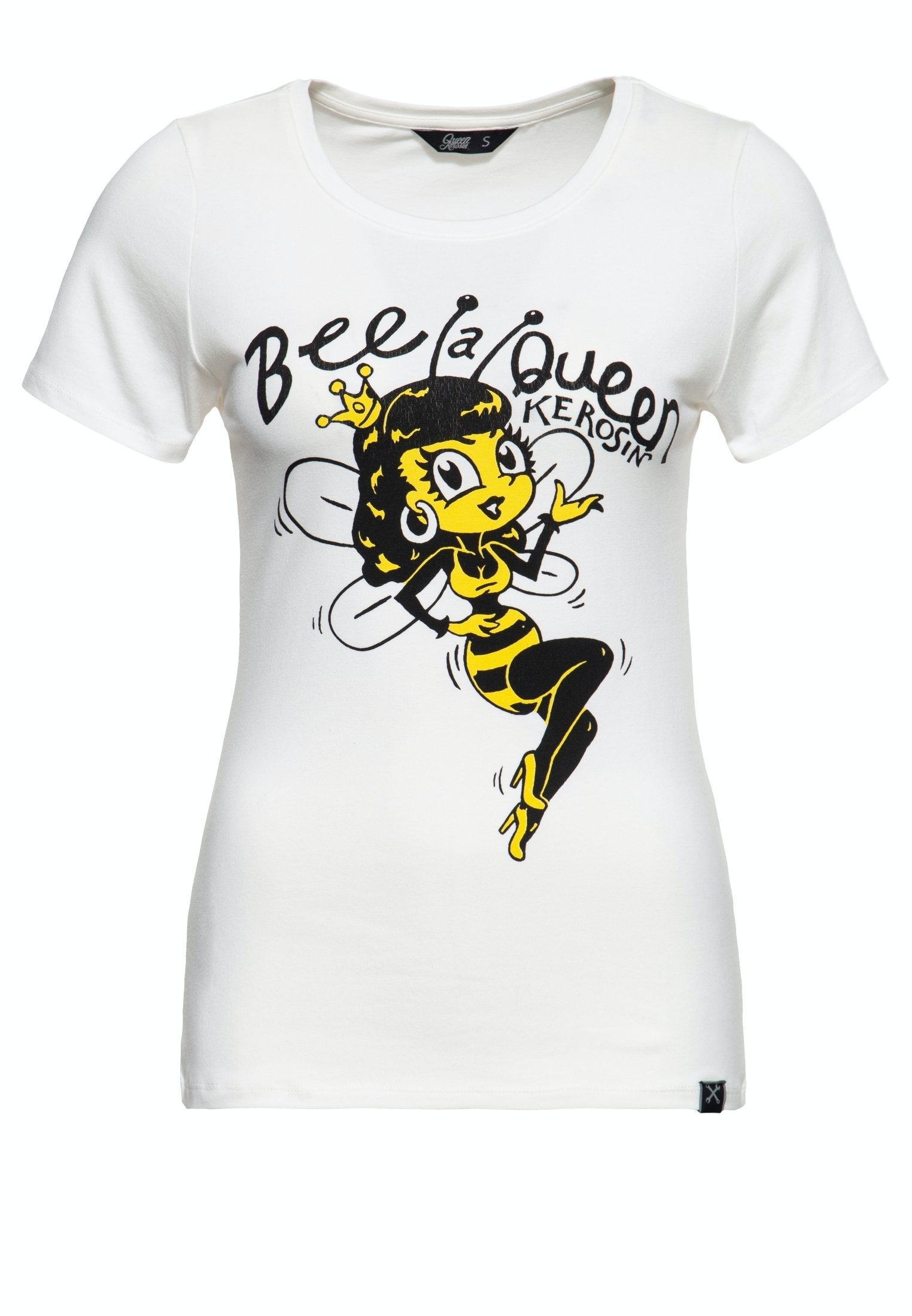 Damen SLIM FIT MIT RUNDEM AUSSCHNITT UND PRINT B - T-Shirt print