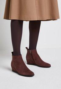 ECCO - SHAPE WEDGE - Ankle boot - bordeaux - 0