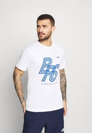 DRY TEE BLUE RIBBON SPORTS - Camiseta estampada - white