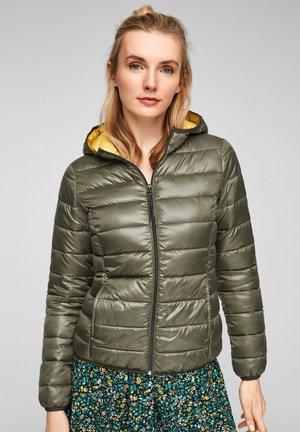 MIT KAPUZE - Winter jacket - olive