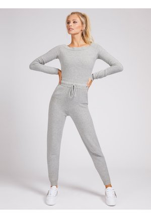 Jumpsuit - light grey