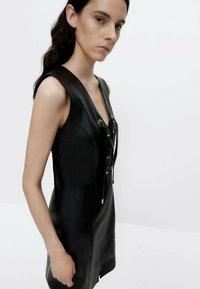 Uterqüe - Shift dress - black - 4