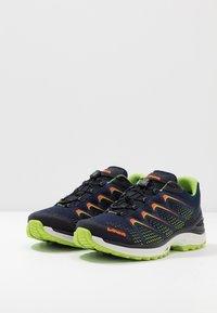 Lowa - MADDOX GTX - Hiking shoes - navy/limone - 2