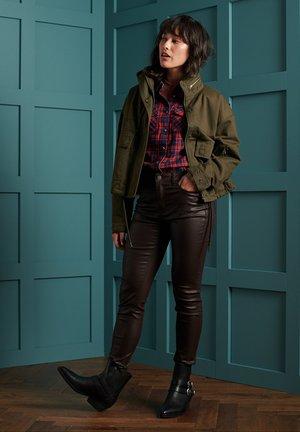 Outdoor jacket - dark khaki