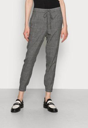 SISTINA PANTS - Trousers - black/grey