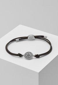 Fossil - Armbånd - silver-coloured/braun - 0