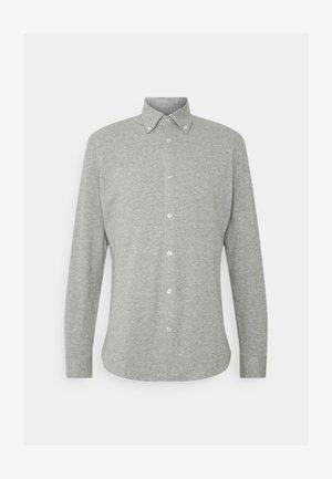 SLHSLIMOLIVER - Overhemd - medium grey melange