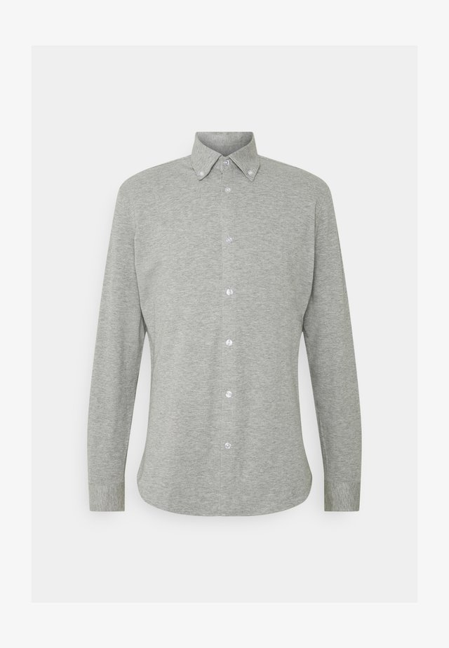 SLHSLIMOLIVER - Hemd - medium grey melange
