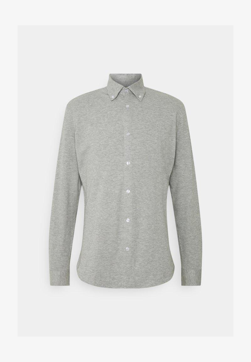 Selected Homme - SLHSLIMOLIVER - Hemd - medium grey melange
