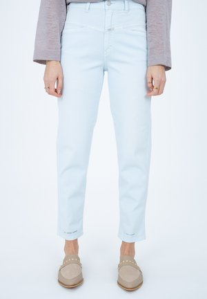 PEDAL PUSHER - Trousers - light blue