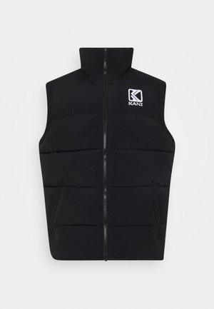 PUFFER VEST - Vest - black
