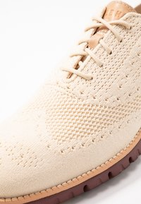 Cole Haan - ZEROGRAND STITCHLITE OXFORD - Chaussures à lacets - brazilian sand/fired brick - 5