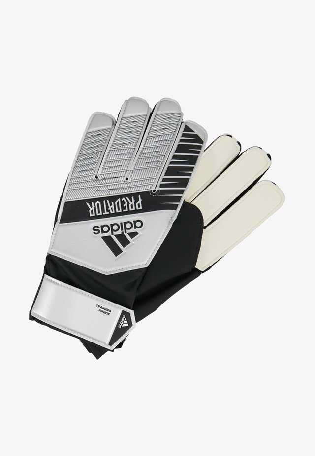 PRED - Keepershandschoenen  - silver metallic/black