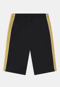 Nike Performance - UNISEX - Pantalón corto de deporte - black/saturn gold/white - 1