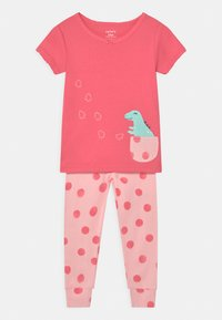 Carter's - DINO 2 PACK - Pyjamas - pink/multi-coloured - 2