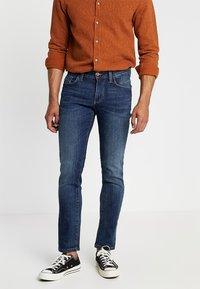 camel active - HOUSTON - Straight leg jeans - dark blue denim - 0
