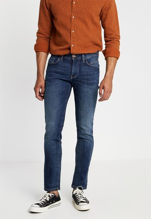 HOUSTON - Džíny Straight Fit - dark blue denim