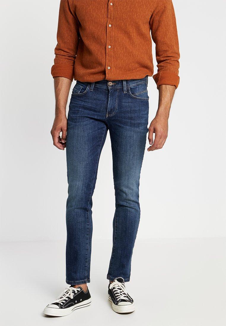 camel active - HOUSTON - Straight leg jeans - dark blue denim